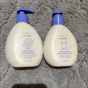 New Monat Kids shampoo and conditioner